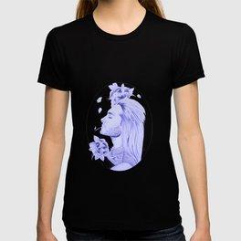 Old School Bill Kaulitz Blue T-shirt