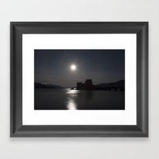 Eilean Donan Castle by Moonlight Framed Art Print