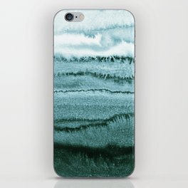 WITHIN THE TIDES - OCEAN TEAL iPhone Skin