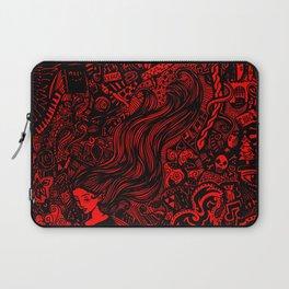 Massive Doodle- Red Version Laptop Sleeve