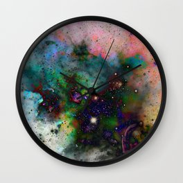 Everything is nothing 5 (therefore it was beautiful) Wall Clock