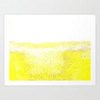 rothko Art Prints featuring Rothko Untitled  by Horus Vacui
