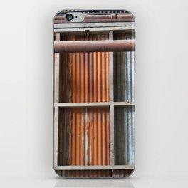 Rusty Blue iPhone Skin