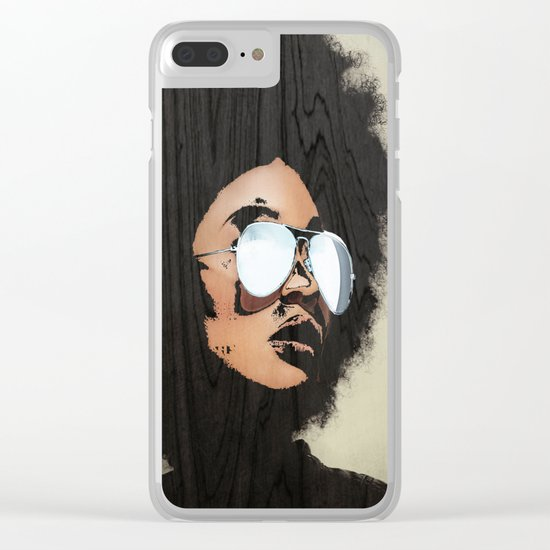 Venus Afro Clear iPhone Case
