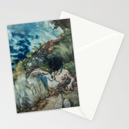 Leda and the Swan? Stationery Cards