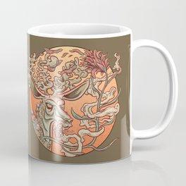 Deer Smoke & Indian Paintbrush Coffee Mug