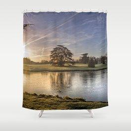 Leeds Castle Upper Lake Shower Curtain