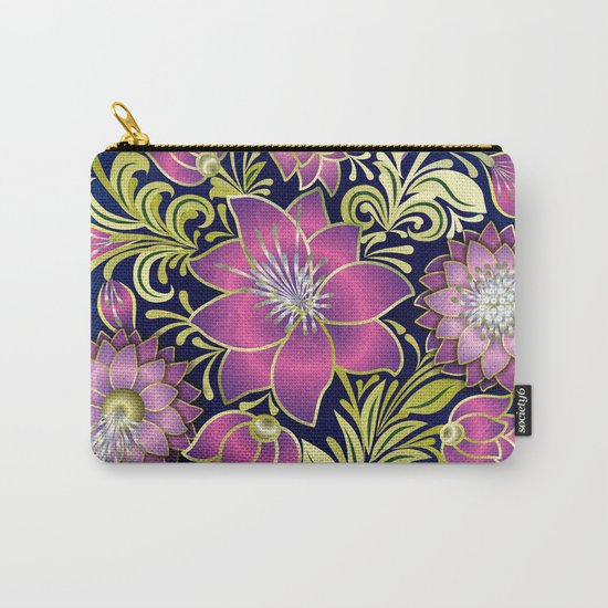 Shabby flowers #1 Carry-All Pouch