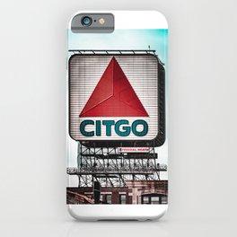 Boston Citgo Sign iPhone Case