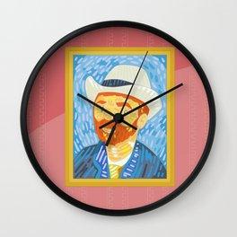 Selfie Van Gogh Wall Clock