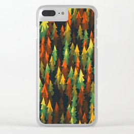 Sexy Forest XXIV Clear iPhone Case