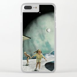 Space Sesh Clear iPhone Case
