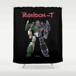 poseidon T Shower Curtain
