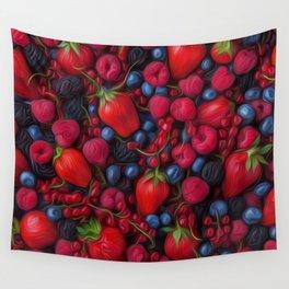 Bush Fruits Wall Tapestry