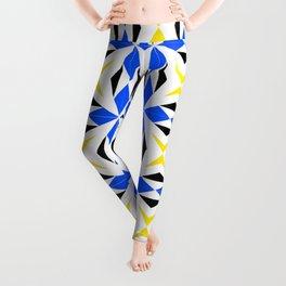 symetric patterns 9 -mandala,geometric,rosace,harmony,star,symmetry Leggings