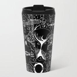 Night in black Travel Mug
