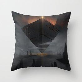 Obsidius Throw Pillow