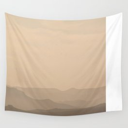 Mountain Ranges Wall Tapestry