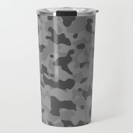 Camouflage Gray Travel Mug