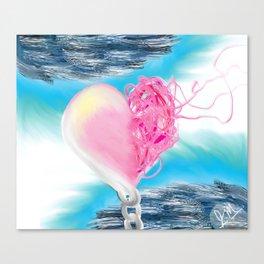 Heart Unwound Canvas Print