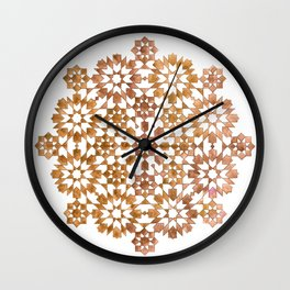 IG gold Wall Clock