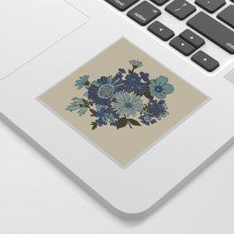 Dorchester Flower 3 Sticker