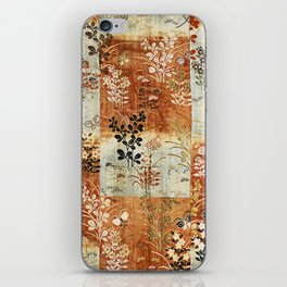 Autumn Grasses and Butterflies iPhone Skin
