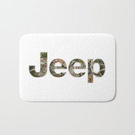 jeep camo Bath Mat