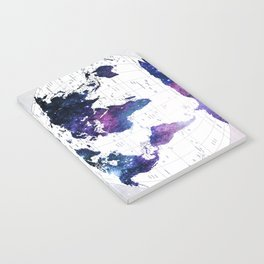 ALLOVER THE WORLD-Galaxy map Notebook