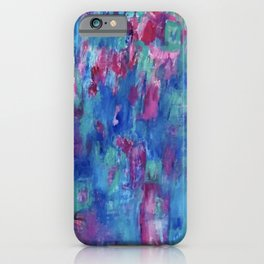 Blueberry Dreams iPhone Case