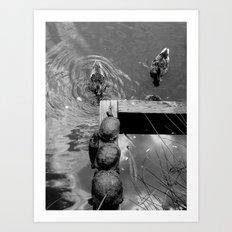 Lake Language Art Print