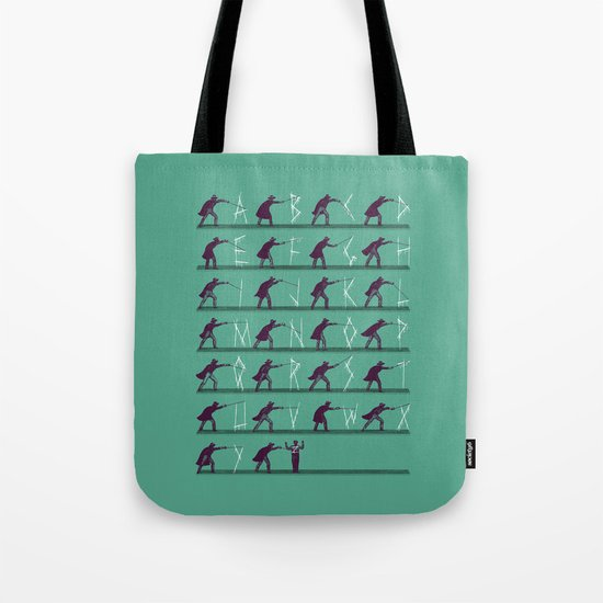 From A to Zorro Tote Bag