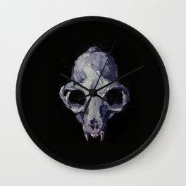 No. 71 Bobcat Skull Wall Clock