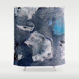 Negative Flint Shower Curtain