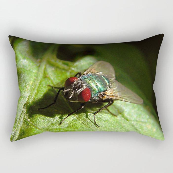 But A Fly Rectangular Pillow