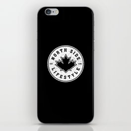 North Side Lifestyle (white) iPhone Skin