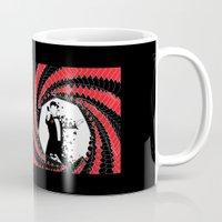 james bond Mugs featuring James Bond Casino Royale by Kozmanaut