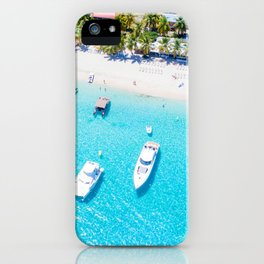 Boats IN the Tropics iPhone Case