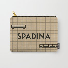SPADINA   Subway Station Carry-All Pouch