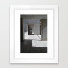 Ode to Louie Framed Art Print