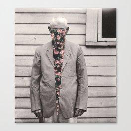Weeping Man Canvas Print