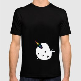 CUTE NARWHAL - RAINBOW HORN T-shirt
