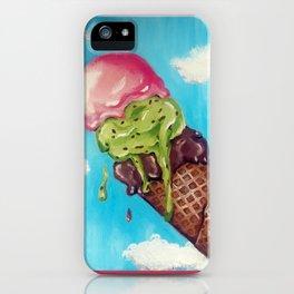 Melting Icecream iPhone Case