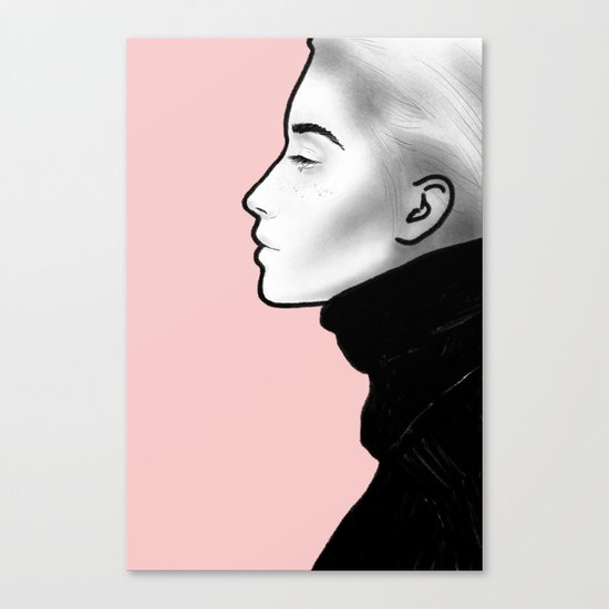 G I R L S 04 Canvas Print