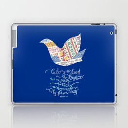 Glory to God -Luke 2:14 Laptop & iPad Skin