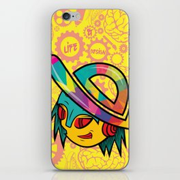 The Dopest Robot Logo iPhone Skin