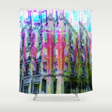 Sunday 26 May 2013: When you pass through remember to recall the view. Shower Curtain