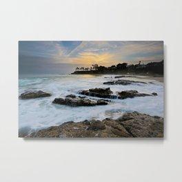 Shaw's Cove Sunset   4/21/14 Metal Print