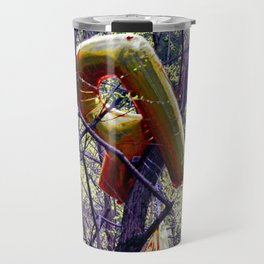 R'ent; you going to recycle 2 daY? Travel Mug