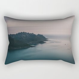 Fjord - Landscape and Nature Photography Rectangular Pillow